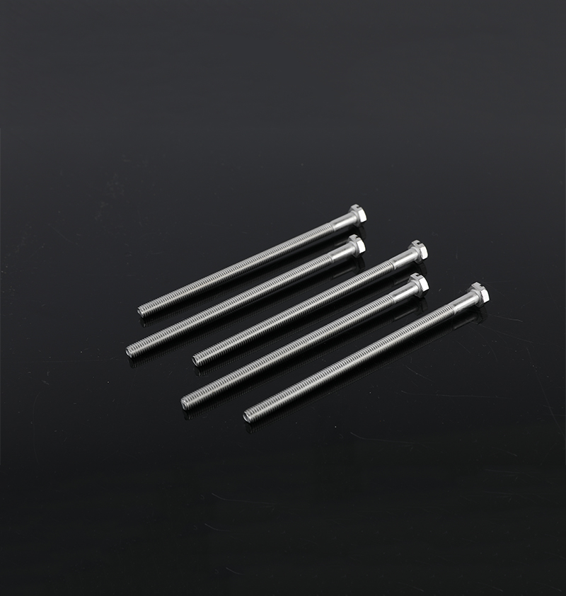 SLOTTED HEXAGONAL BOLT STAINLESS STEEL A4/316SS