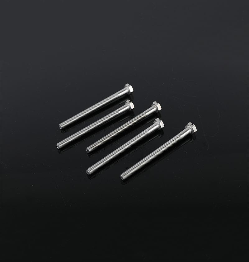 SLOTTED HEXAGONAL BOLT STAINLESS STEEL A2/304SS